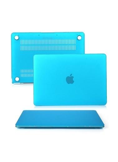 """Mcstorey MacBook Pro A1286 15.4"""" Kılıf Kapak Koruyucu Ruberized Hard Incase Mat Lacivert"""